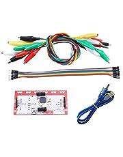Kcnsieou 1 juego duradero y firme para el módulo de control principal de Makey, kit de bricolaje con clip de cable USB