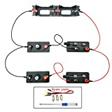 EUDAX School Labs Basic Electricity Discovery Circuit Kit for Introductory Electronics