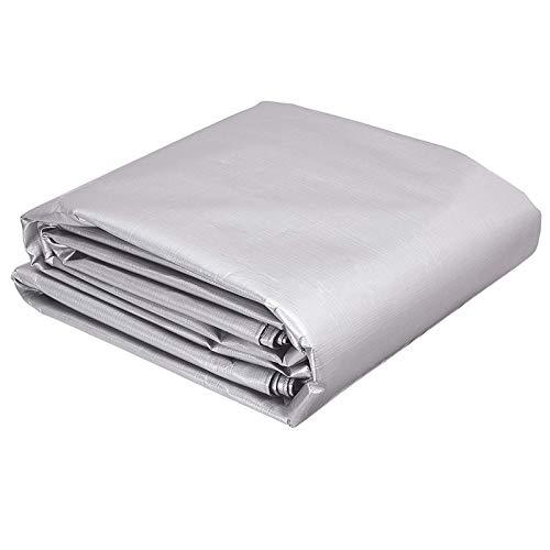 QIAOH Lona Impermeable 8X10m, Lona De Plástico Impermeable, Toldos Impermeables Exterior para Muebles De Jardín, Piscina, Camiones, Lona De Protección Resistente Al Polvo