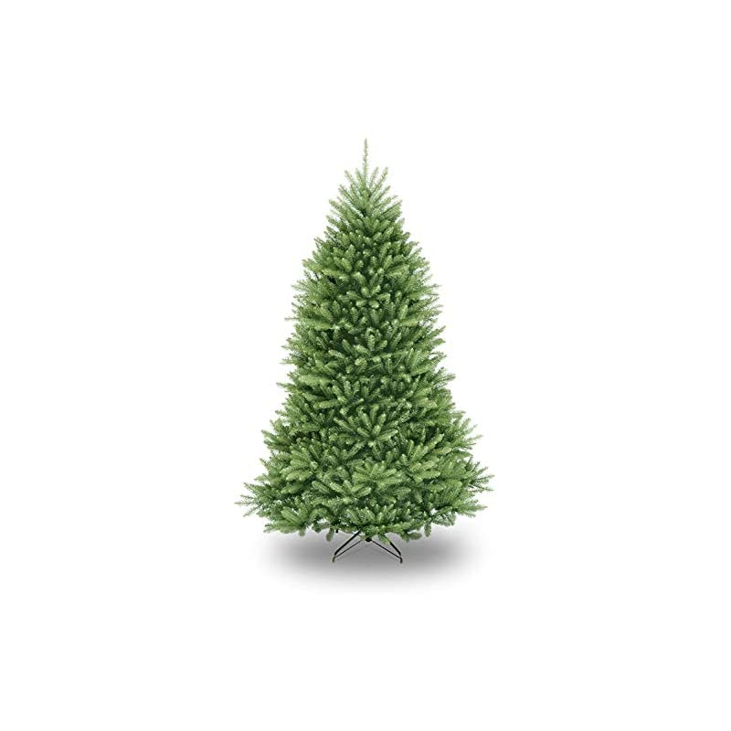 silk flower arrangements national tree company artificial christmas tree   includes stand   dunhill fir - 7.5 ft