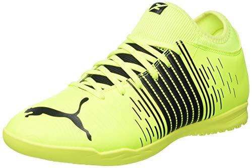 Puma Future Z 4.1 IT, Zapatillas de Futsal Hombre, Yellow Alert Black White, 43 EU
