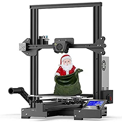 Creality Ender 3 Max 3D Printer with Silent Motherboard, Meanwell Power Supply, Tempered Carborundum Glass Plate, Large Print Size 300x300x340mm