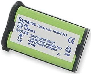 Lenmar CB0513 Cordless Phone Battery 2.4 Volt, Ni-MH 1500mAh - Replacement For PANASONIC HHR-P513