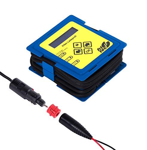 fritec Ladeprofi Vario für 6V und 12V Batterien - Made in Germany - Hochleistungs Diagnose- und Ladegerät mit digitaler Strom-, Spannungs- und Ladefortschrittsanzeige - für Fast alle Batterietypen