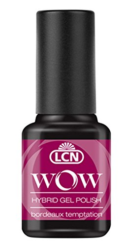 LCN WOW Hybrid Gel Polish - WOW 19 bordeaux temptation