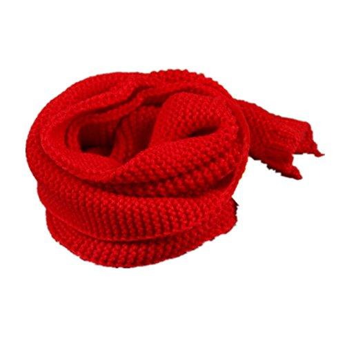 MHGAO Winter Herfst Warm Verdikking Breien Sjaal voor Kinderen