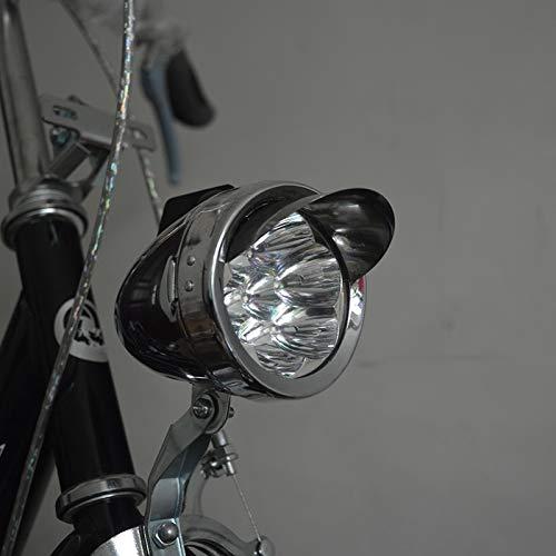yywl LED Fahrradlicht Led Metall Shell Super Light Old Style Classic Vintage Retro Fahrrad Fahrrad Frontscheinwerfer