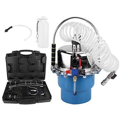 Akozon Purgador de presión neumática 10-40 PSI Sangrado de freno neumático Kit de herramientas de purgador de presión de aire neumático