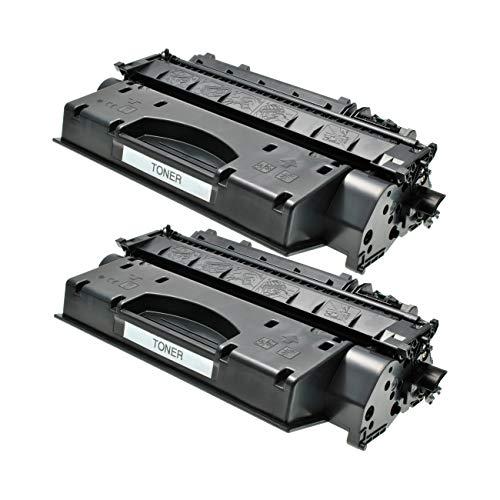 2 Toner kompatibel für Canon LBP251dw, LBP252dw, LBP253x, LBP-6300dn, LBP-6650, I-Sensys LBP-6300, LBP-9950, MF5840, MF5940, MF6140 - Schwarz je 2.100 Seiten