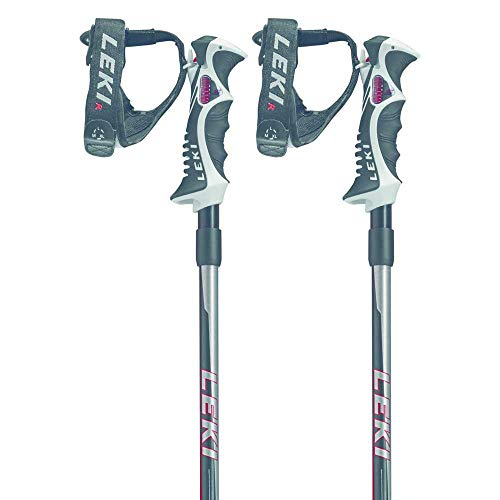 LEKI Hot Shot S Bâtons de Ski Noir 125 cm