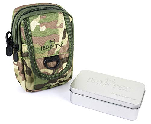 JEO-TEC Bolsa de Cintura Táctico Militar Multiuso EDC Compacto de Nylon, para...