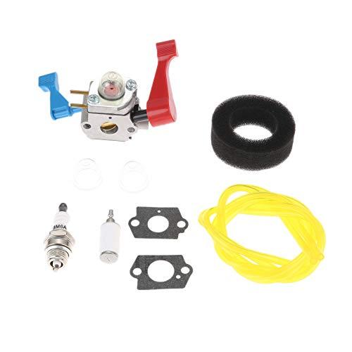 Kit de reemplazo de carburador, Driest Carbureor Carbo Rebuild Kit para Poulan FL1500LE FL1500 944794201 Blower Reemplazar C1U-W12B C1U-W12A 530071629 Práctico y Conveniente