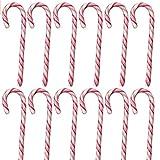 Candy Zuckerstangen 36 Stk, rot-weiß im Retro Geschenkbeutel!