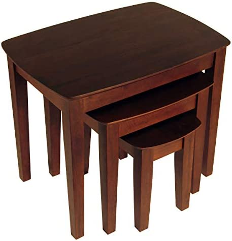 Best Winsome Wood Bradley Accent Table, Antique Walnut