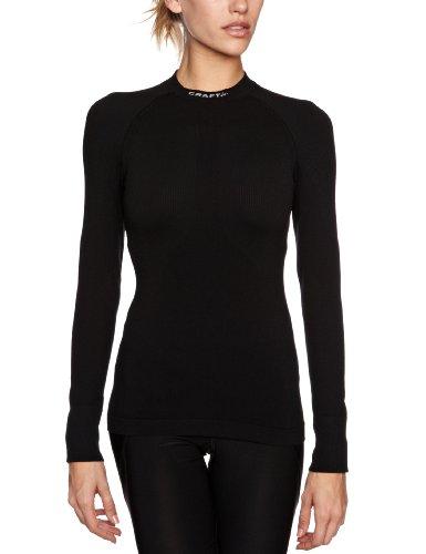 Craft 1900247 Keep Warm sous-vêtement Technique Ras du Cou Femme 1999 Noir Taille 40 = L