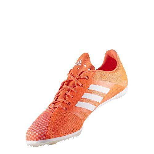 adidas Adizero Ambition 4, Zapatillas de Running Hombre, Rojo (Solar Red/ftwr White/core Black), 44 EU