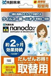 携帯型・空間除菌 「ナノクロ」 携帯用 ケースinタイプ 取替用