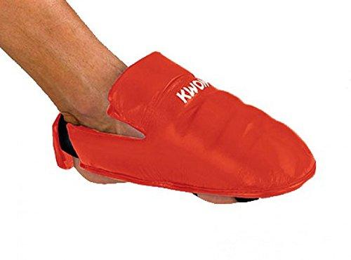 KWON Karate Fußschutz, Rot Oder Blau Kwon Rot M