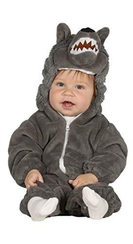 Guirca- Disfraz lobo baby, Talla 12-24 Meses (87593.0)