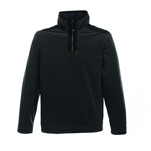 Regatta Mannen INTERCELL Plain Coltrui met lange mouwen jas, Zwart, XXX-Large