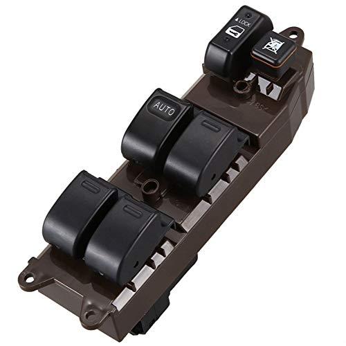 MNBHD Interruptor de Control de Ventana Interruptor de Ajuste de la Ventana de energía eléctrica for Toyota Hilux Pickup 84.820-12.470 (Color : Black)