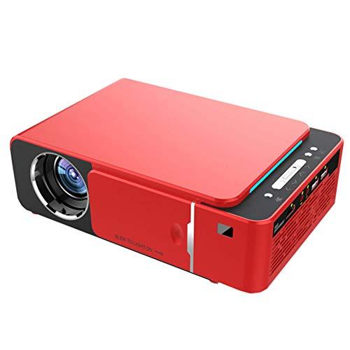 Mississ Newest Projector, T6 Proiettore LED HD 3500 Lumen 4K 3D 1080P Home Cinema Android 9.0 WiFi Stesso Schermo Versione Videoproiettore con Porta USB IR VGA HDMI SD Card