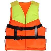 BSTCAR Chaleco Salvavidas Niño, Chaleco de Espuma de Natación de Neopreno para Nadar, Adjustable, Pasear en Bote, Esquiar