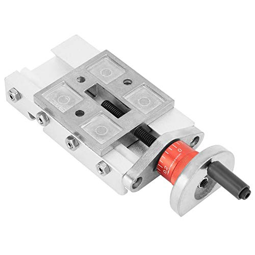 32mm Metal Cross Slide Block Z008M For Lathe Axis Y/Z Mechanical Lathe Parts Tool Iron + Aluminium Alloy 4.6 × 2.0 × 0.8 Inch