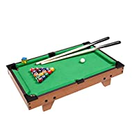 Solid Wood pool Table 27inch Mini Parent-child Interactive Pool Table set Toys For Children's Birthd...