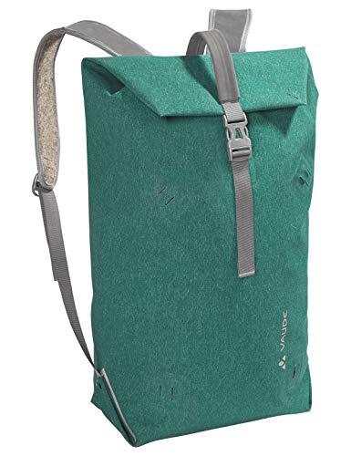 VAUDE Taschen Wolfegg, Nachhaltig innovativer Rucksack für den modernen Alltag, 24l, Huckepack-Funktion mit Egg, nickel green, one Size, 141449840