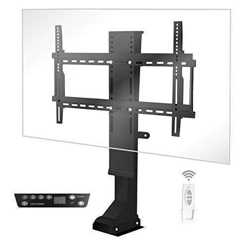 I-NOVA - Supporto TV motorizzato TV lift 820mm 4K LED OLED 32-70 , memoria di posizione, tecnologia silenziosa, corsa rapida 1  182 cm, capacità carico 70 kg