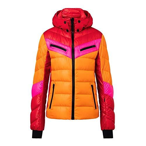 Bogner Fire + Ice Damen Ski Daunenjacke Farina-D mit Kapuze orange (506) 34