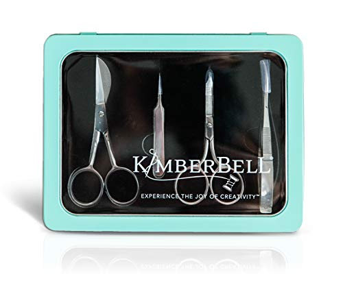 Kimberbell Juego de tijeras de bordar, 4 piezas