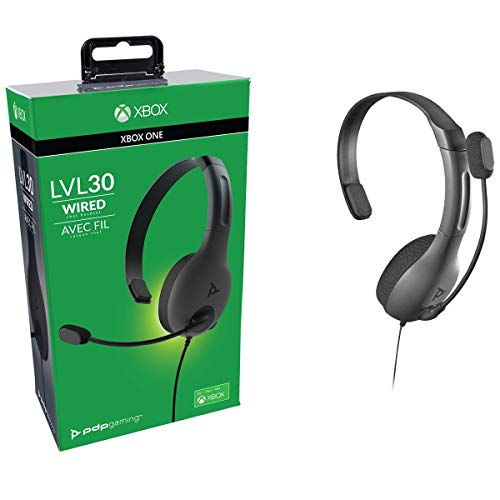 Pdp Cuffie Lvl30 Chat Microsoft Xbox One Nero - Essentials - Xbox One