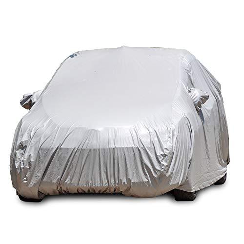 Funda Impermeable para Coche. Accesorio Que Protege el Exterior de tu vehículo. Lona para Coche (S-M-L-XL). (M)