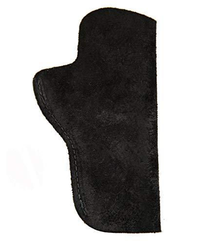 FHL 1911_Kimber Custom CDP II_45ACP Leather Suede Holster_IWB_Brown_RH_LH_USA (Left Black)