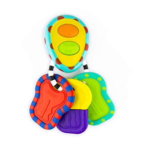 Sassy Electronic Keys | Developmental Toy for Early Learning Promotes Imaginative Play | for Ages 3 Months and Up