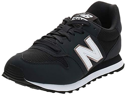 New Balance Damen 500 Sneaker, Schwarz (GW500HHB), 40.5 EU