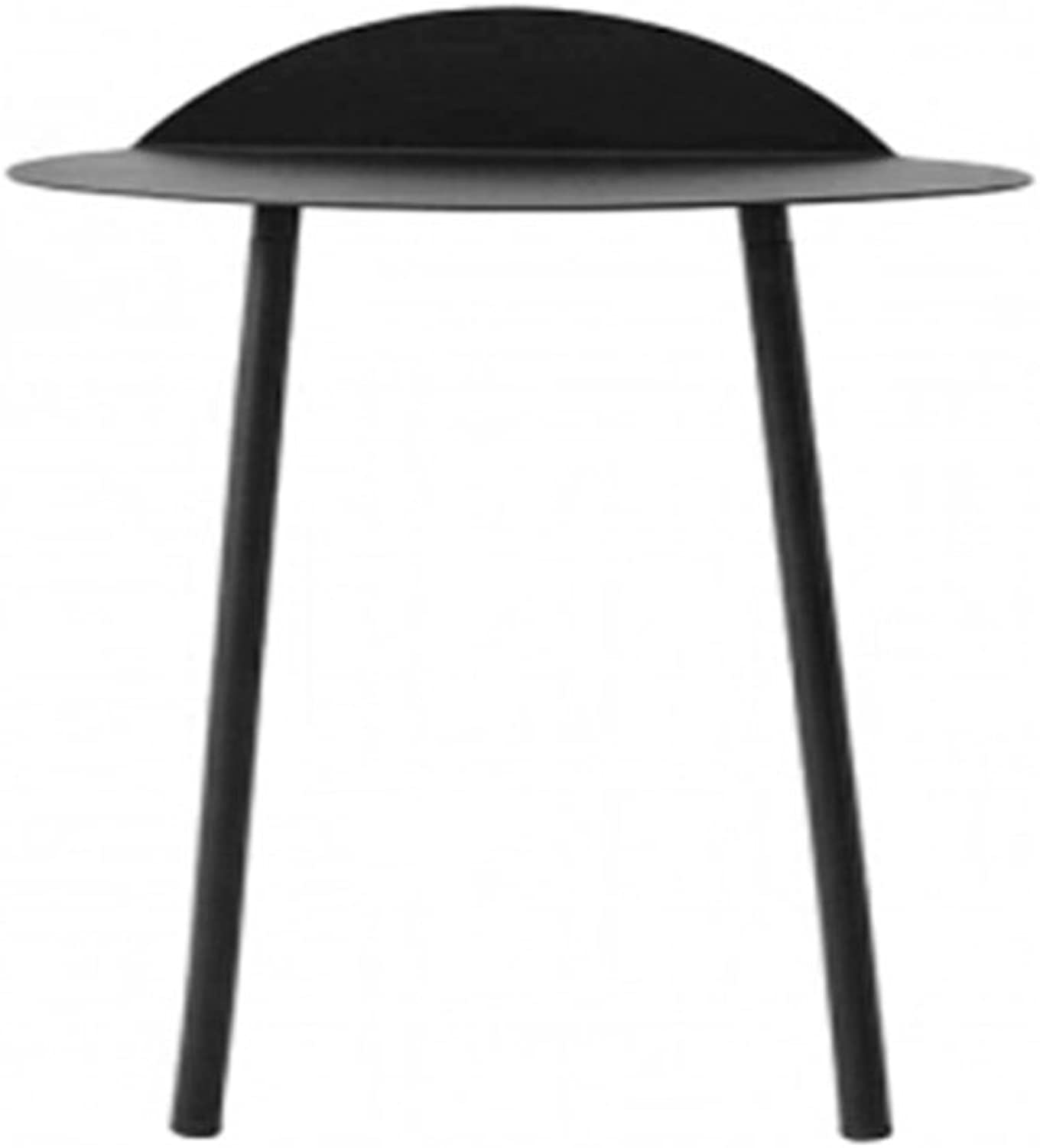 Small Coffee Tea Table Side End Table Rack Stand Home Furniture for Living Room (color   Black, Size   B)