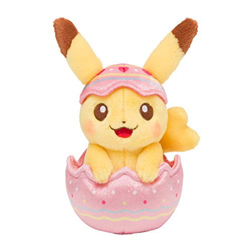 ポケモンセンターオリジナル ぬいぐるみ Happy Easter Basket たまごごっこピカチュウ