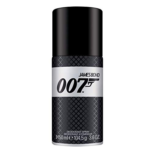 James Bond 007 Deodorant Spray – Unwiderstehlich-frisches Deo für Männer - perfekter Sommerduft gepaart mit britischer Eleganz – 1er Pack (1 x 150ml)