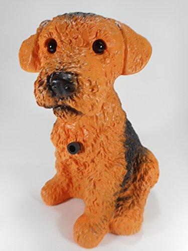 Foxi 23 cm 88055 Kunststoff-Figur mit Bewegungsmelder