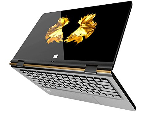 "Primux Ioxbook Tour 1102F - Ordenador portátil de 11.6"" FullHD (Intel Atom x5-Z8350, 2 GB de RAM, 32 GB eMMC, Windows 10 Home) color dorado - teclado QWERTY español"