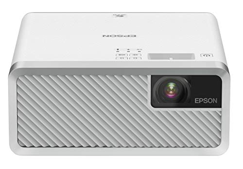 EPSON dreamio ホームプロジェクター(2500000:1 2000lm) WXGA対応 メディアストリーミング端末あり EF-100WATV