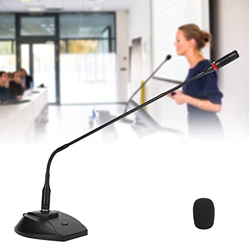 Micrófono de cuello de cisne, micrófono inteligente con reducción de ruido para conferencias(59cm microphone pole, Transl)