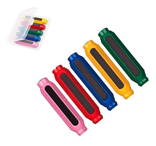 BCHARM『マグネットチョークホルダーセット(5本黄/赤/緑/青/ピンク)』