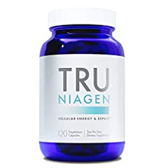 ELEVATE YOUR BODY'S NAD: NAD is a vital cellular resource which helps fuel many of the body's essential functions. But our NAD levels decline over time and under metabolic stress, leaving our cells with a dwindling supply. Tru Niagen replenishes your...