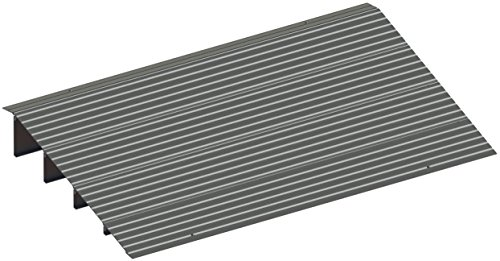 EZ-ACCESS, Threshold Ramp, 4 Inches (11 Pounds), Indoor and Outdoor Use, Transfer Between Levels and Surfaces with More Security and Safety, Great for Wheelchairs, Walkers, Scooters