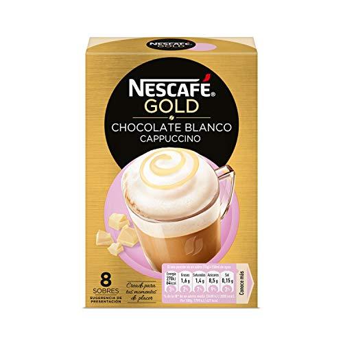 Nescafé Gold Cappuccino Chocolate Blanco 8 x 15 gr - Total: 120 g