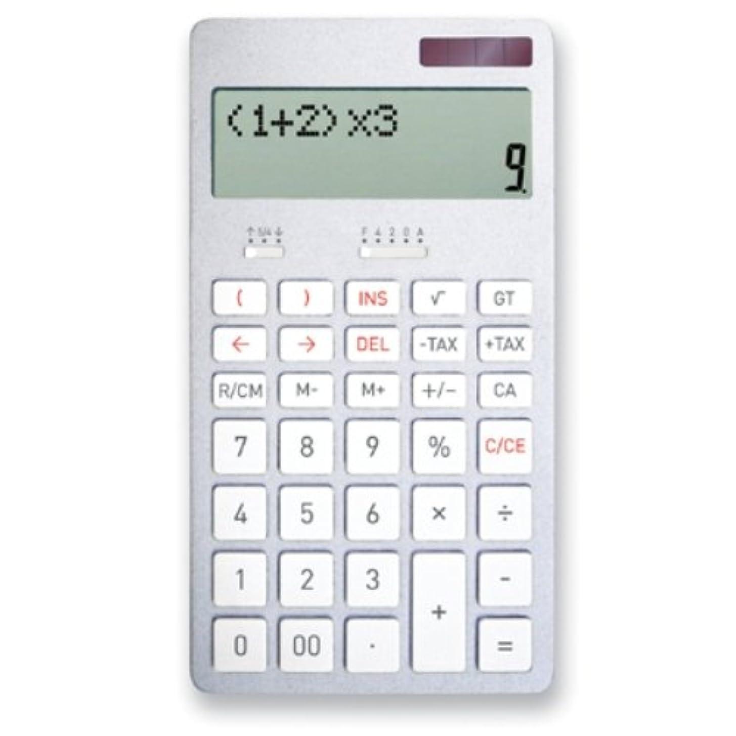 バター冷凍庫写真のアスカ 計算式表示電卓C1222S C1222S